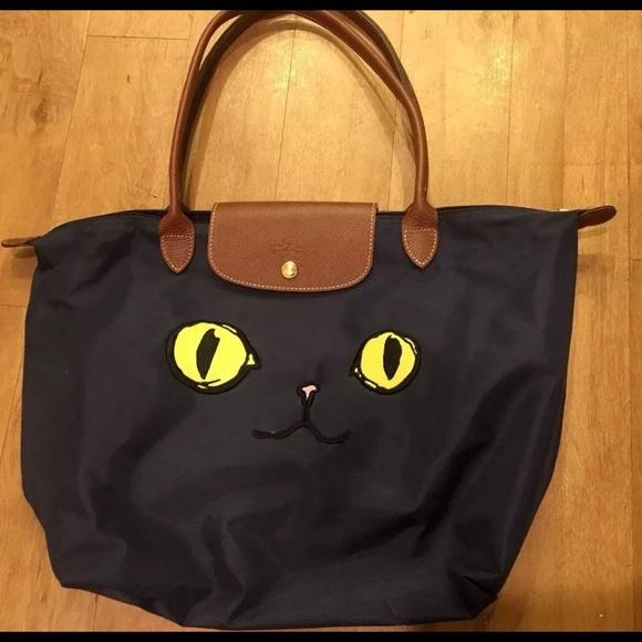 ecaba851869f Longchamp Handbags - Authentic Longchamp Le Pliage MIAOU Cat Bag